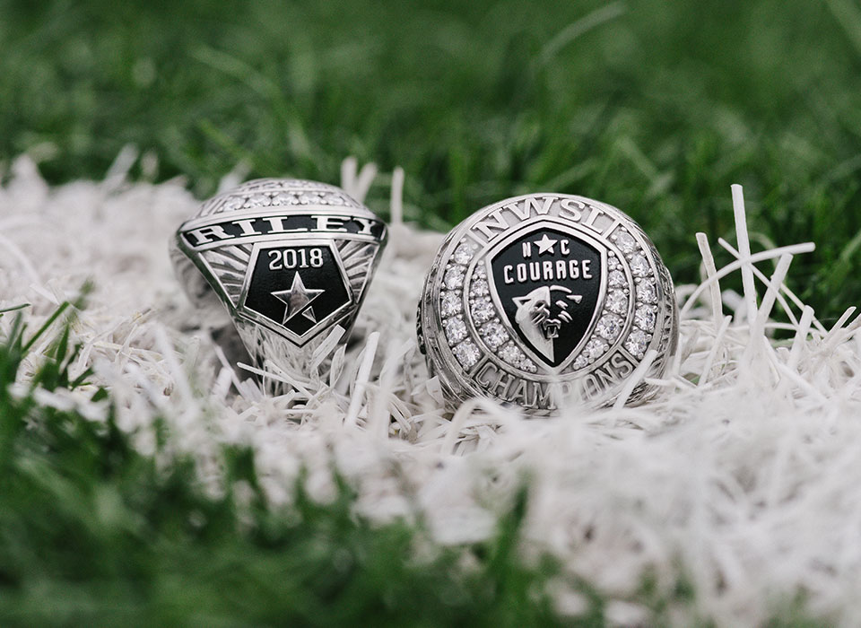 NC Courage championship rings