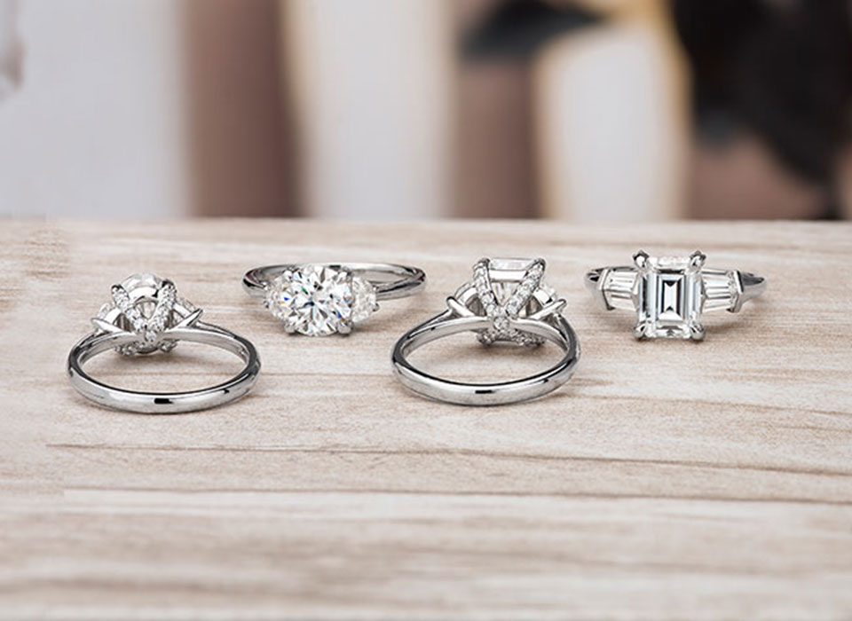 XOXO Engagement Rings